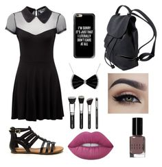 """""""Another thing I would wear any day"""" by martie12 ❤ liked on Polyvore featuring Killstar, Casetify, Bobbi Brown Cosmetics and Lime Crime"""