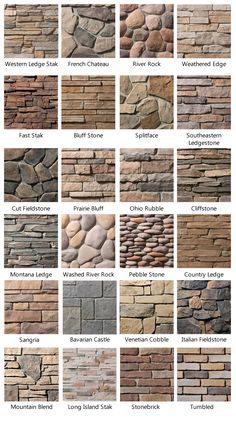 wall stone floor inspiration