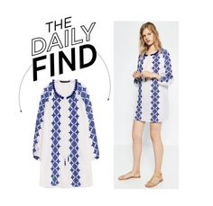 """The Daily Find: Zara Embroidered Tunic"" by polyvore-editorial ❤ liked on Polyvore featuring DailyFind"