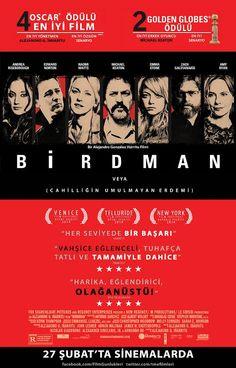 Birdman 4 Oscarlı Film Vizyonda ! - http://www.haberalarmi.com/birdman-4-oscarli-film-vizyonda-20590.html