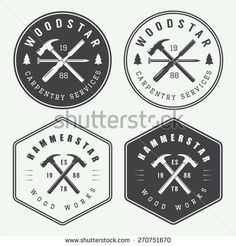 vintage construction logos - Google Search