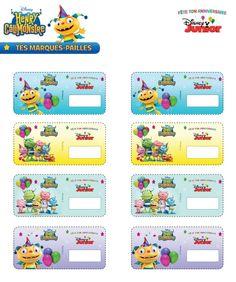 (site, imprimables et textes en français) Henry Hugglemonster, Disney Junior, Party Themes, Disney Parties, Activities, Birthday, Diy, Party, Printables