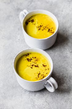 Creamy turmeric latte with hints of vanilla, cinnamon, nutmeg and cardamom. It'll make you feel like pure 24k gold. This recipe is in partnership with the amazing McCormick Spices. #turmeric #turmericlatte #veganrecipe #latte #coconutmilk #turmericrecipe