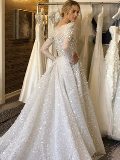 Chana Marelus debuts her new collection during NYBFW! Chana designs for the woman who knows she doe Beautiful Wedding Gowns, Dream Wedding Dresses, Bridal Dresses, Prom Dresses, 2 Piece Wedding Dress, Contemporary Dresses, Couture Wedding Gowns, Engagement Dresses, Bridal Collection