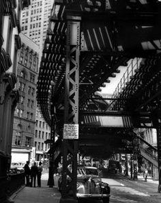 Clemens Kalischer, Hanover Square, New York, 1947