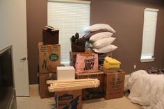 Veronika's Blushing: Moving Tips & Tricks & Staging Your Home