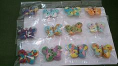 My butterflies brooches....love it...