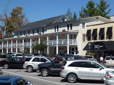 Main Street in Highlands NC  - MUST go shopping here while up there- and stop at ice cream place too
