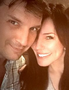 Checkmate: Castle star Nathan Fillion is dating sexy actressKrista Allen