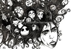 tim burton's infinite dreams by vasodelirium.deviantart.com