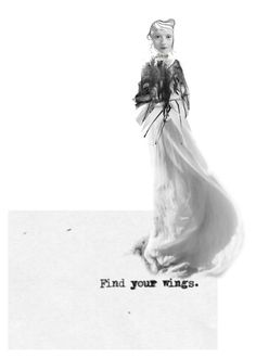 """wings."" by madcarrot ❤ liked on Polyvore featuring art"