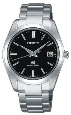 Grand Seiko Watch Quartz #bracelet-strap-steel #brand-grand-seiko #case-depth-10mm #case-material-steel #case-width-37mm #clasp-type-deployment #date-yes #delivery-timescale-call-us #dial-colour-black #gender-mens #jura-top-sellers #luxury #movement-quartz-battery #official-stockist-for-grand-seiko-watches #packaging-grand-seiko-watch-packaging #subcat-quartz #supplier-model-no-sbgx061j #warranty-grand-seiko-official-2-year-guarantee #water-resistant-100m