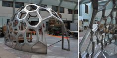 SPACEPLATES - CNC Prefab Geodesic Dome