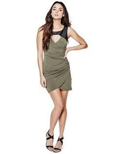 Aiden Sleeveless Dress   GUESS.ca