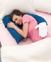 Novelty boyfriend pillow