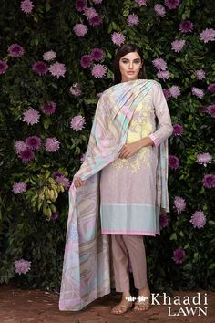 Khaadi Lawn 3 Piece Bold Impressions Summer collection