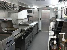 A Caravan Of Food Trucks: Page 5 Of 11. Kitchen LayoutKitchen  IdeasCommercial Kitchen DesignTempuraRestaurant ...