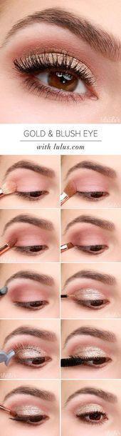 Trendy Ideas makeup tutorial ojos eyeliner make up Day Eye Makeup, Blue Eye Makeup, Makeup For Brown Eyes, Makeup Tips, Makeup Ideas, Makeup Tutorials, Beauty Makeup, Hair Makeup, Makeup Hacks