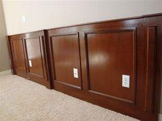 wood wainscoting - Google Search