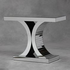 Lovely unique console tables for hallways & living rooms. White & black console tables, marble console tables, console tables with drawers. Mirrored Furniture, Table Furniture, French Furniture, Marble Console Table, Art Deco Mirror, Entry Tables, Glass Vanity, Beveled Mirror, Home Room Design