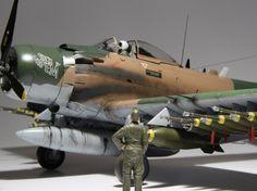 Douglas A-1J Skyraider — Каропка