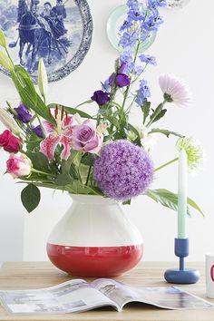 Flowers in Piet Hein Eek vaas | Elske | www.elskeleenstra.nl