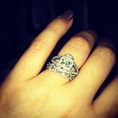 Engagement Rings - Worlds Most Beautiful Engagement Rings...... This wedding band***