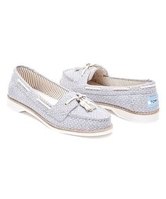 a0ab7bdce7e This Chambray Dot Tassel Canvas Slip-On - Women is perfect!  zulilyfinds  Bare