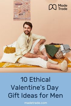 10 Ethical and Sustainable Valentine's Day Gift Ideas for Men. Sustainable Gifts, Sustainable Clothing, Sustainable Living, Tailored Shirts, Cool Backpacks, Valentine Day Gifts, Special Gifts, Sustainability, Best Gifts