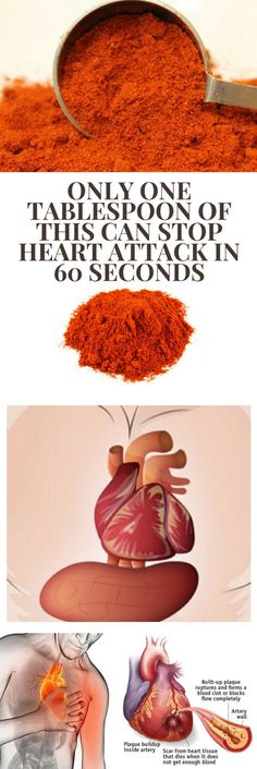 Stop A Heart Attack In 1 Minute – Recipe!