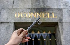 key to O'Connell tomb, Grave yard at Glasnevin cemetery