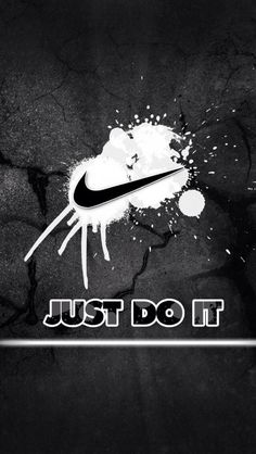 Nike Just Do It Quotes Logo HD Wallpapers for iPhone is a fantastic HD wallpaper for your PC or Mac and is available in high definition resolutions. Just Do It Wallpapers, Iphone Wallpaper For Guys, Beste Iphone Wallpaper, Cool Backgrounds For Iphone, Nike Wallpaper, Wallpaper Gallery, Cool Wallpaper, Iphone Wallpapers, Stunning Wallpapers
