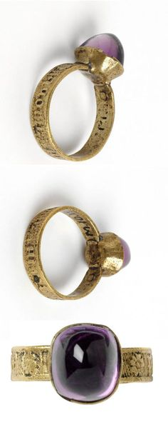 Ring, ca. 1400 fashion love