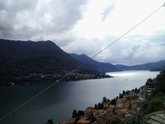 Amazing view over #Lakecomo www.hotel-posta.it