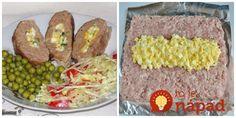 Jemná roláda z mletého mäsa: Žiadna strúhanka a drží perfektne - počas pečenia vám nepraskne! Lchf, Meatloaf, Baked Potato, Ham, Tacos, Potatoes, Mexican, Ethnic Recipes, Hams