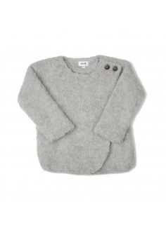 OEUF Boucle Coat / Light Grey