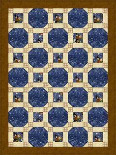 Free Quilt Patterns | Free Baby Quilt Patterns: Stars Through the Windows
