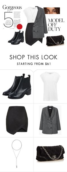 """""""Chelsea boots"""" by ilarial1 on Polyvore featuring moda, Monsoon, By Malene Birger, Topshop, MANGO, W. Britt e Chanel"""
