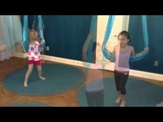 ▶ Kids Aerial Yoga At Yogapeutics for sensory development, calming for Sensory Processing Disorders and Autism.