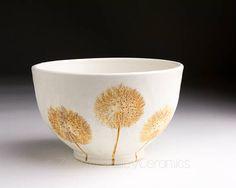 Stoneware Bowl  Salad Bowl  Pasta Bowl  Pottery Bowl