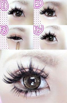 #beauty #doll #eye #lush #lash