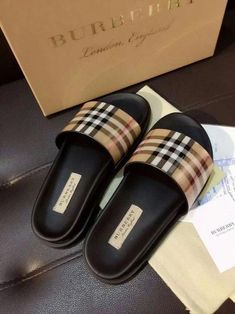 Gender: WomenStyle: CasualSole material: RubberSize: 5 to 11 Brand: Burberry Imported Dr Shoes, Hype Shoes, Me Too Shoes, Shoes Sandals, Sneakers Fashion, Fashion Shoes, Gucci Shoes Sneakers, Cute Slippers, Burberry Shoes
