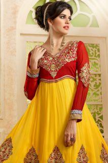Magnificent Punjabi Suit Beautiful Colour Combination Salwar Churidaar Largest Home Design Picture Inspirations Pitcheantrous