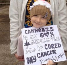 Oregon's Youngest Medical Cannabis Patient Is Curing Her Cancer – See How She's Doing It