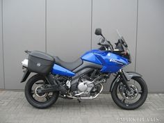 My Vstrom found and bought. Just having crashbars and Carterplate fitted. Romania here i come :)