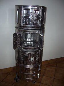 washing machine drum shelves