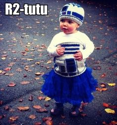 Star Wars (Big Brothers) + Ballet (Big Sis) = Awesome Costume for my baby sis!!
