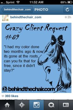 I'm Instagram famous! @behindthechair_com made my story into an ecard :)