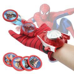 Glove Laucher Props Spiderman Batman Hulk Iron man Cosplay Cool Gift For Kid Cosplay Marvel, Spiderman Cosplay, Captain America Action Figure, Iron Man Captain America, Costume Spider-man, Diy Costumes, Hulk, Toys For Boys, The Avengers