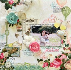 you&me - My Creative Scrapbook Limited Edition Kit Nov 2013